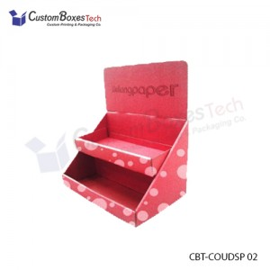 Custom Counter Display Packaging Boxes - CustomBoxesTech
