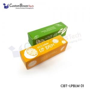 Custom Lip Balm Packaging Boxes - CustomBoxesTech