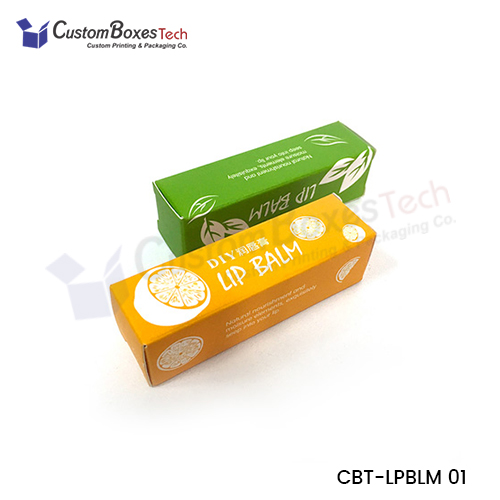 Custom Lip Balm Packaging Boxes - CustomBoxesTech