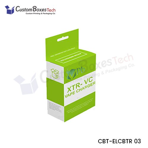 Custom Charger Packaging Boxes - CustomBoxesTech