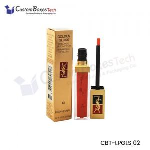 Custom Lip Gloss Packaging Boxes - CustomBoxesTech
