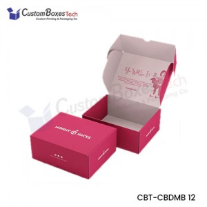 Custom Colors Mailer Boxes - CustomBoxesTech
