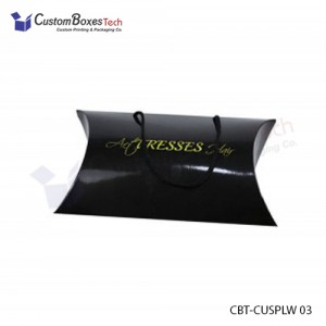 Custom Pillow Packaging Boxes - CustomBoxesTech