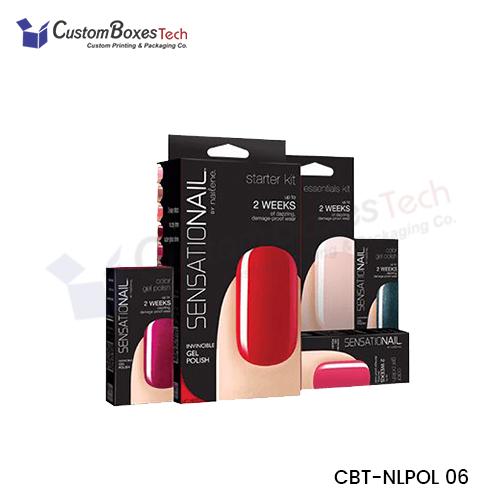 Custom Nail Polish Packaging Boxes - CustomBoxesTech