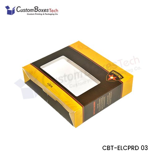 Custom Packaging Boxes with Window - CustomBoxesTech