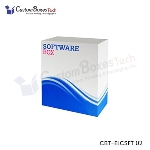 Custom Software Packaging Boxes - CustomBoxesTech