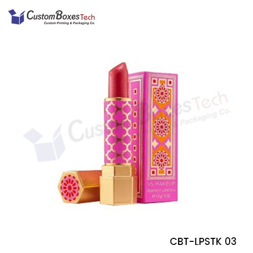Custom Lipstick Packaging Boxes Wholesale - CustomBoxesTech