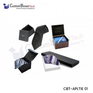 Custom Tie Packaging Boxes - CustomBoxesTech