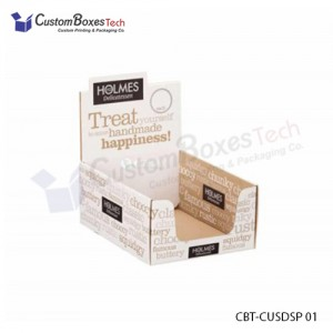 Custom Display Packaging Boxes Wholesale - CustomBoxesTech
