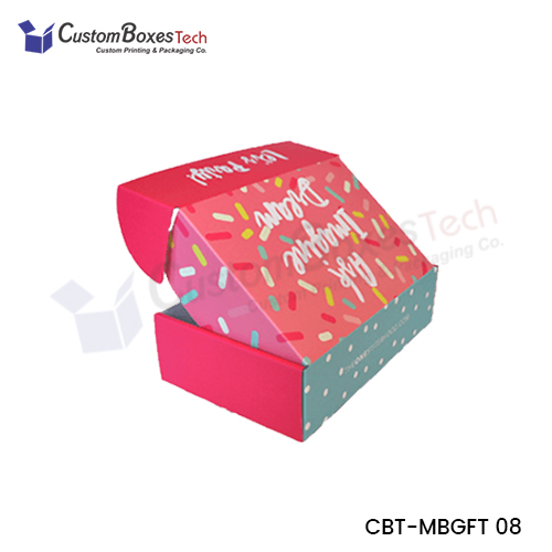 Custom Gift Mailer Packaging Boxes - CustomBoxesTech