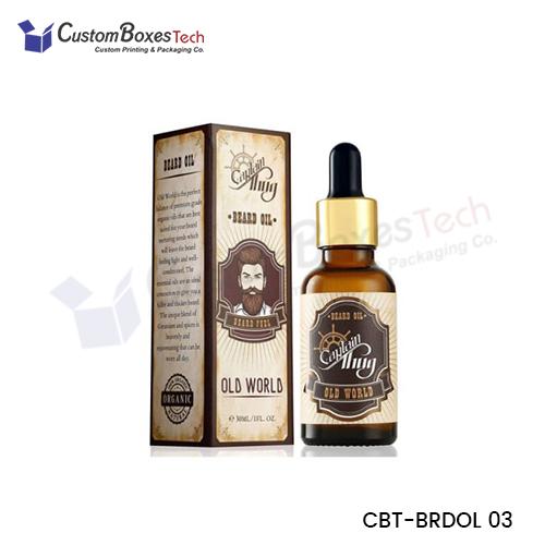 Custom Beard Oil Packaging Boxes - CustomBoxesTech