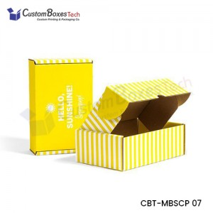 Custom Subscription Mailer Boxes - CustomBoxesTech