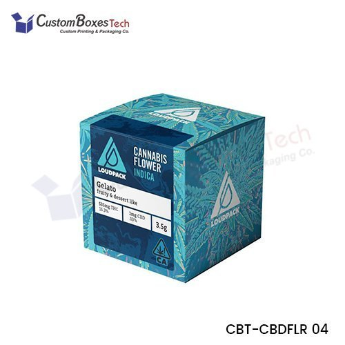 Custom Cannabis Flower Packaging Wholesale