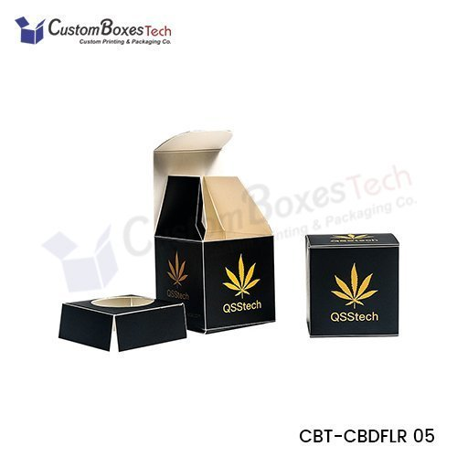 Custom Cannabis Flower Packaging Boxes