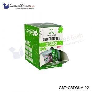 Custom CBD Gummies Packaging Boxes
