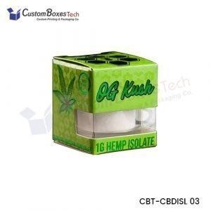 Custom CBD Isolate Packaging Boxes