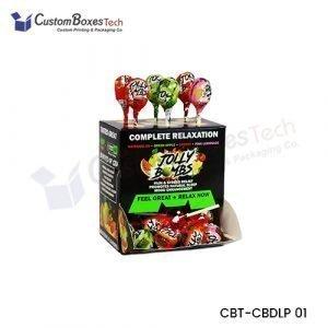 Custom CBD Lollipop Packaging Boxes