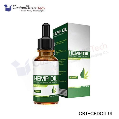 Custom CBD Oil Packaging