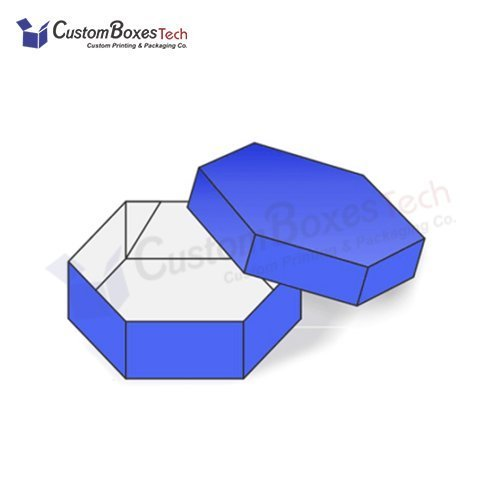 Custom Hexagonal Two Piece Packaging Boxes