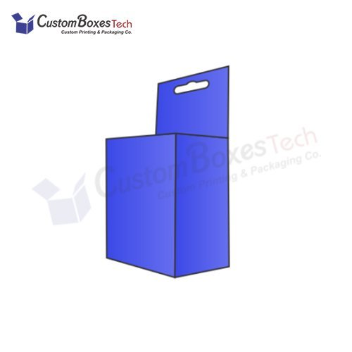 Custom Five Panel Hanger Packaging Boxes