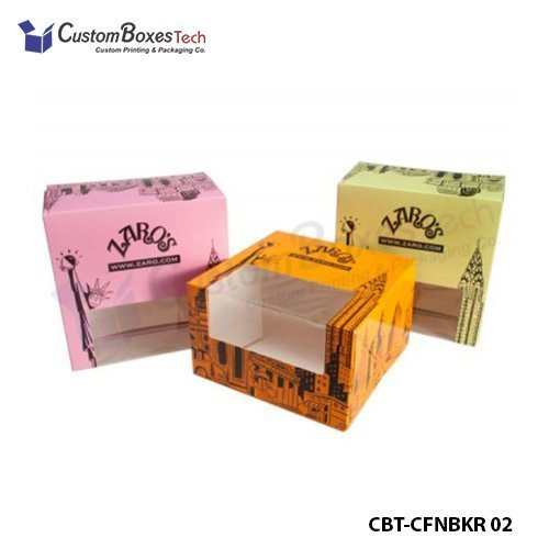 Custom Pastry Packaging Boxes Wholesale