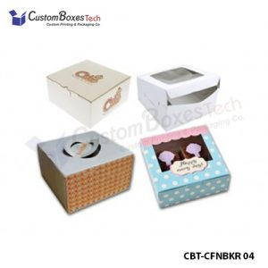 Custom Bakery Two Piece Packaging Boxes