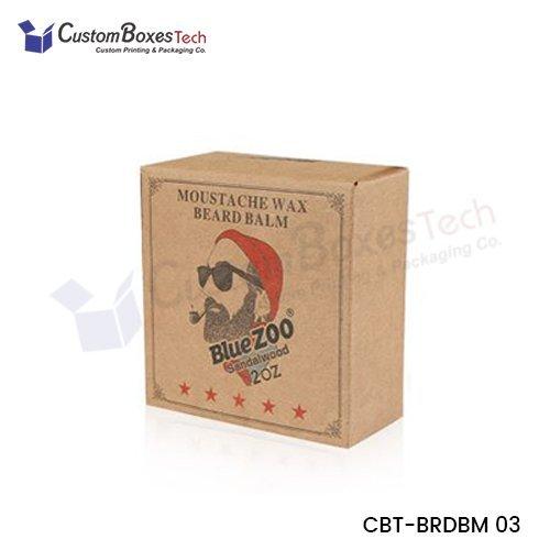 Custom Beard Balm Packaging