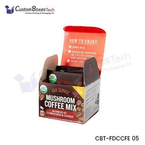 Custom Coffee Packaging Boxes