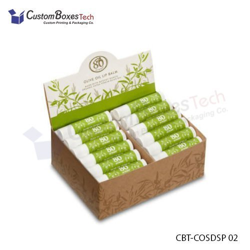 Custom Lip Balm Display Packaging Boxes