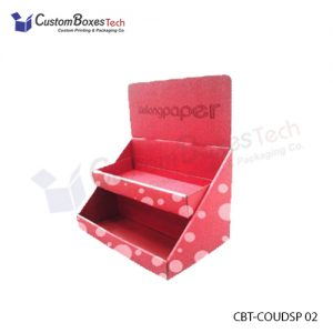 Custom Auto Bottom Counter Display Boxes