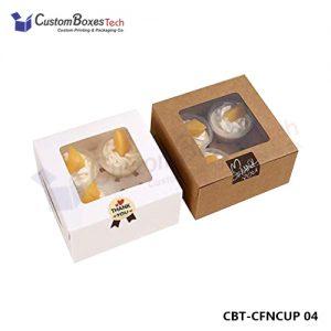 Custom Cupcake Packaging Wholesale