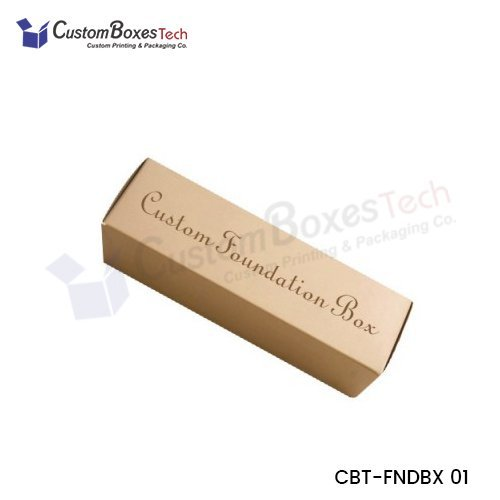Custom Foundation Packaging Boxes Wholesale
