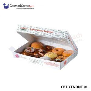 Custom Donut & Doughnut Boxes Wholesale