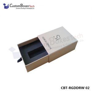 Custom Sliding & Drawer Rigid Packaging Boxes