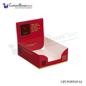 Custom Eco Friendly Display Packaging Boxes