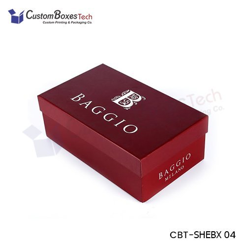 Custom Shoe Packaging Boxes Wholesale