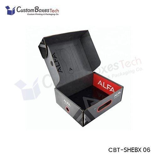 Custom Shoe Boxes Wholesale