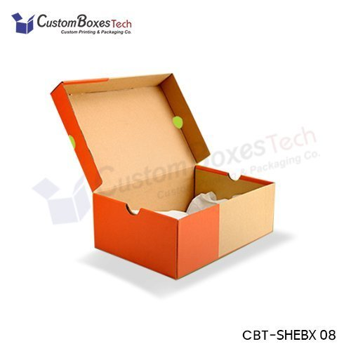 Custom Shoe Packaging Boxes