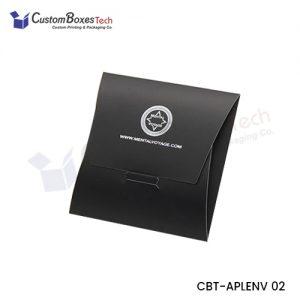 Custom Apparel Envelop Packaging Boxes