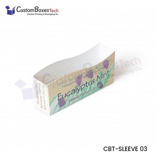 Custom Soap Packaging with Sleeves
