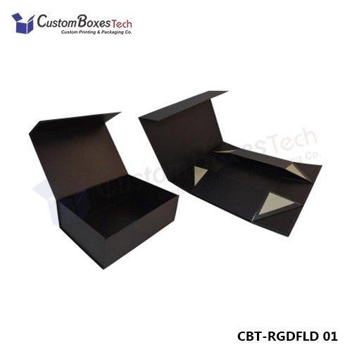 Custom Foldable Rigid Packaging Boxes