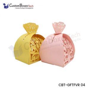 Custom Favor Packaging Boxes wholesale
