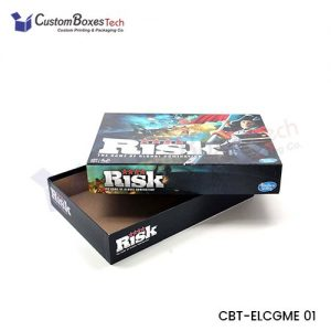 Custom Game Packaging Boxes