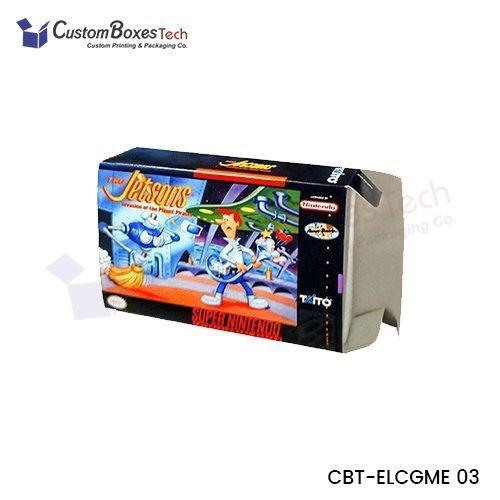 Custom Game Packaging Boxes