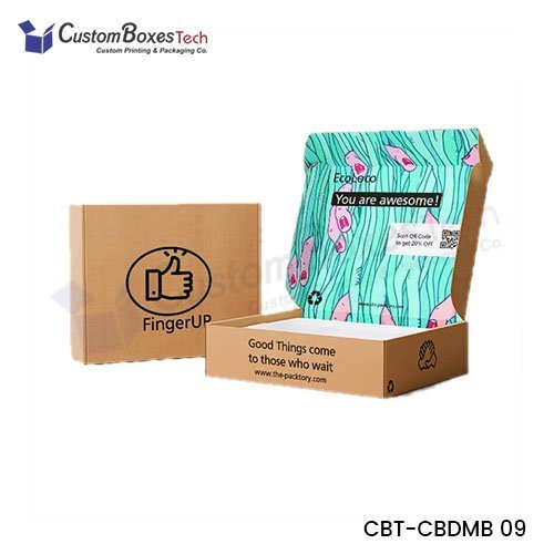 Custom Colors Mailer Packaging Boxes wholesale