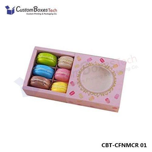 Custom Macaron Sleeve Packaging Wholesale