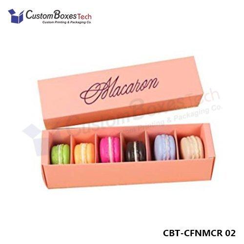 Custom Macaron Sleeve Boxes Wholesale