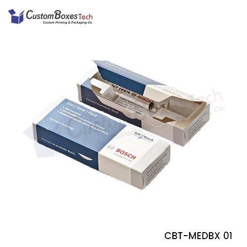 Custom Medicine Boxes Wholesale