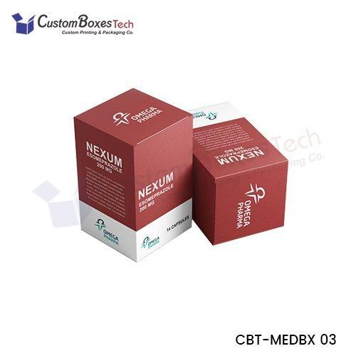 Custom Medicine Packaging Boxes Wholesale