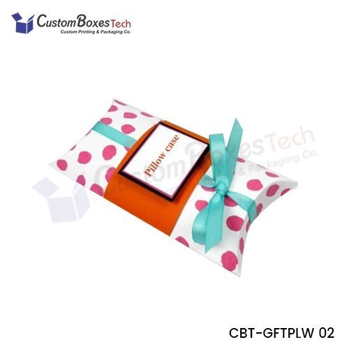 Custom Gift Pillow Packaging Boxes